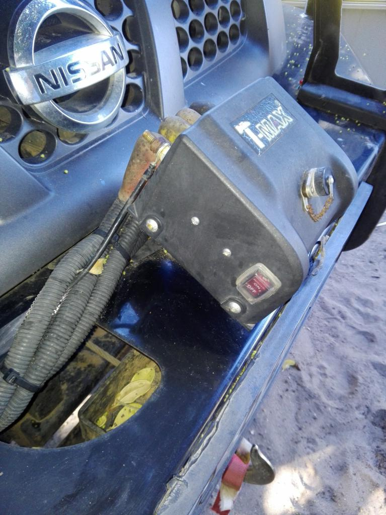 mobile phone reemote control for 4x4 winch